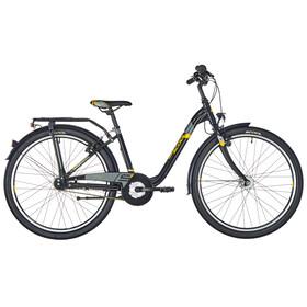s'cool chiX 26 7-S Juniorcykel Barn alloy grå/svart
